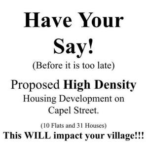 Have Your Say! Proposed High Density Housing Development on Capel Street