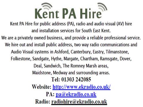 Kent P.A. Hire poster