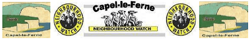 Capel-le-Ferne Neighbourhood Watch Logo