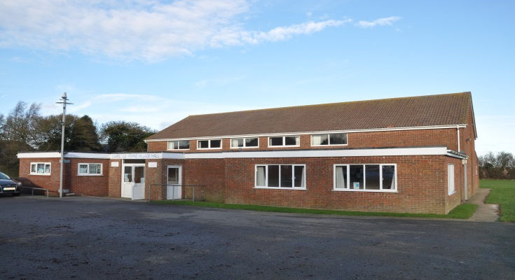 A photo of the Capel-le-Ferne village hall building