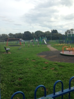 A view of the Lancaster Avenue recreation ground