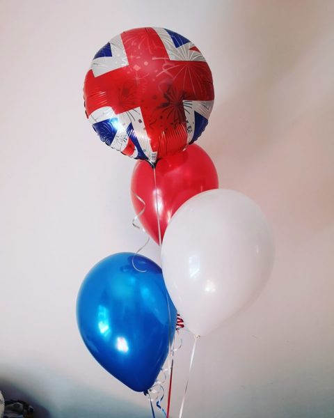 VE DAY 75 balloon picture