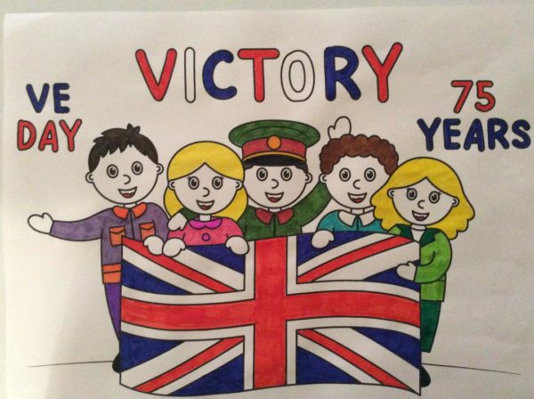 VE Day picture by Geoff