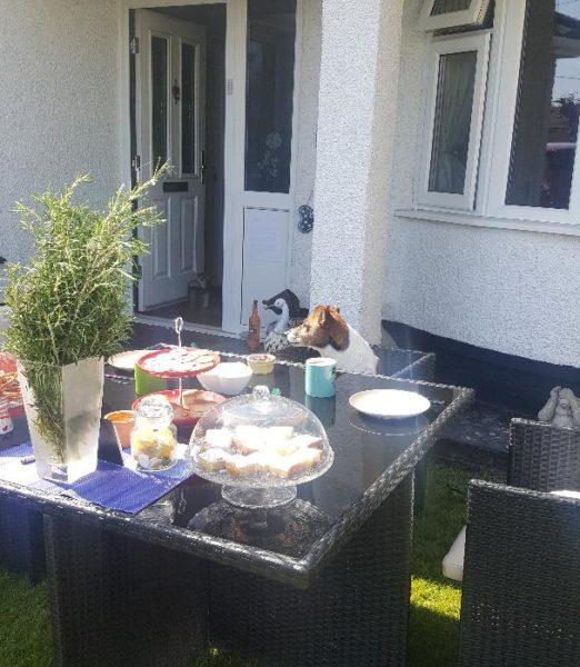Delia's Tea Party Photo
