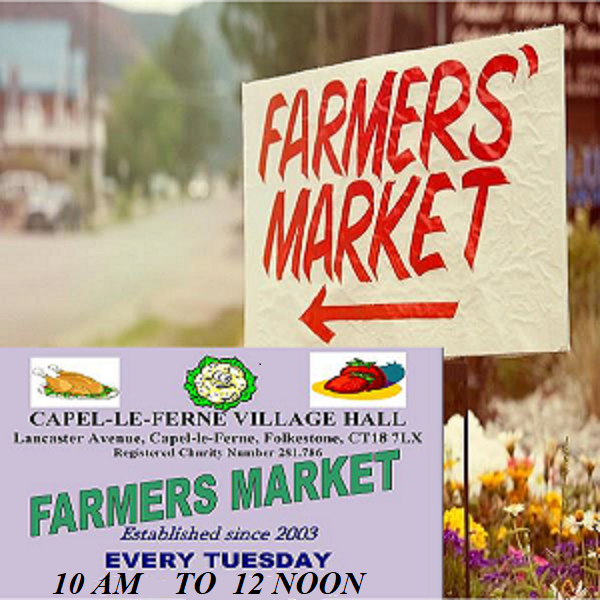 Farmers' Market Every Tuesday Poster