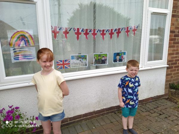 VE DAY 75 picture
