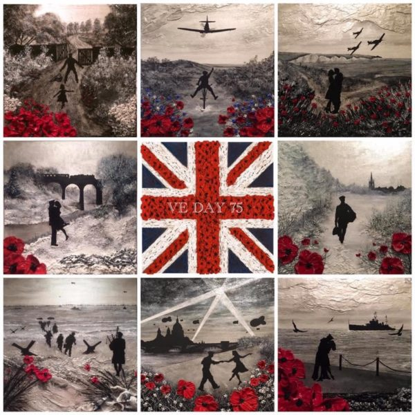 VE DAY 75 Collage picture