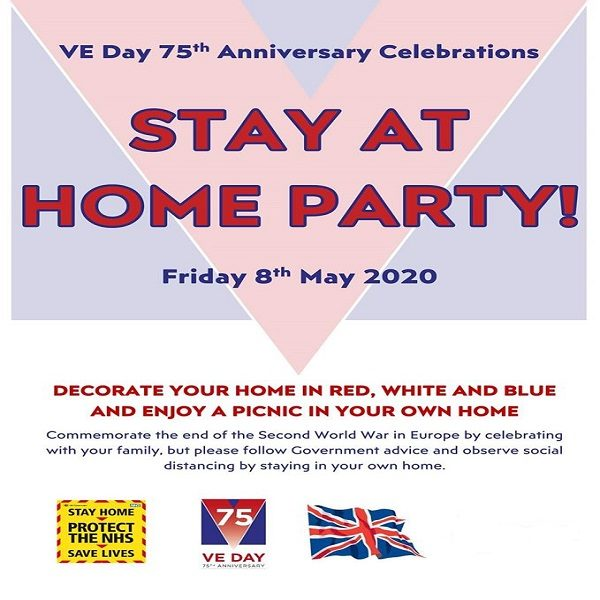 VE DAY 75 poster